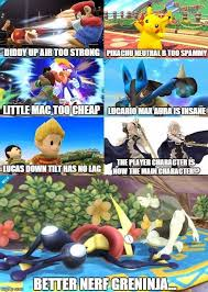 Nerf Meme - i don t agree with all of these better nerf greninja know your