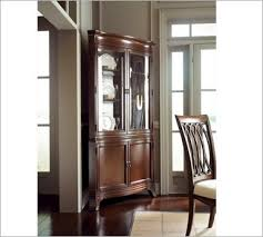 Modern Corner Curio Cabinet Curio Cabinet Spot