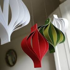 How To Make Paper Christmas Decorations At Home 25 Best Large Christmas Decorations Ideas On Pinterest Large