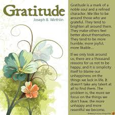 Thanksgiving Quotes Lds Storing November 2013
