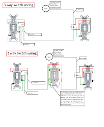4 way switch wiring diagram multiple lights cooper 4 way switch wiring diagram inside diagrams webtor ideas of