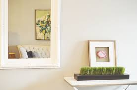 How To Make A Frame For A Bathroom Mirror by How To Paint A Non Removable Mirror Frame