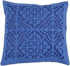 Cargo Furniture Cushion Covers Wholesale Pure Cotton Royal Blue Cushion Cover In Bulk 16x16