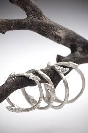elvish wedding rings organic sterling silver twig stacker ring elvish band redsofa