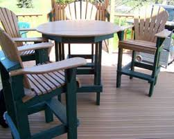 round wood patio table patio furniture for small decks unique furniture ideas posite patio