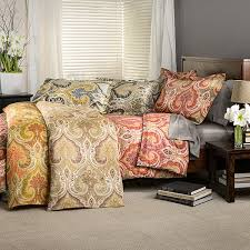 Paisley Duvet Cover Set Milano Paisley Cotton Duvet Cover Set Free Shipping On Orders