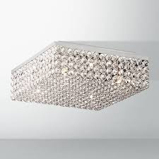 Square Ceiling Light Fixture by Velie 12
