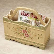 wooden magazine rack for decoration home painting ideas