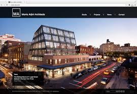 architect website design morris adjmi architects website and identity design wyman projects