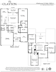 the clayton floor plan al new home construction davidson homes the clayton floor plan