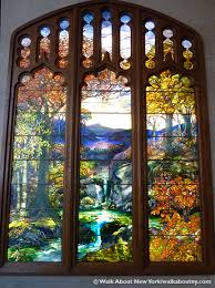 Louis Comfort Tiffany Stained Glass Tiffany U0027s Stained Glass U201cautumn U201d Walkaboutny