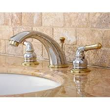 bathroom faucet handle polished brass widespread bathroom faucet free