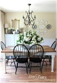 Black Dining Table White Chairs Dining Room Table And Chairs Makeover With Annie Sloan Chalk Paint