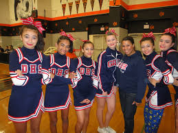 name of high school in usa dublin high school cheerleading wins 1st and fallon 4th at usa