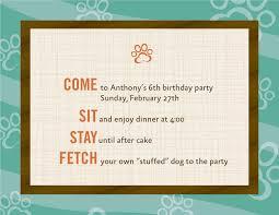 birthday invitation themes dog theme birthday invitations 12 20 00 via etsy notecards