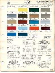 porsche yellow paint code paint chips 1978 gremlin concord matador pacer jeep hornet