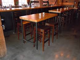 pub table height 42 home design fabulous high top bar tables table height with prepare
