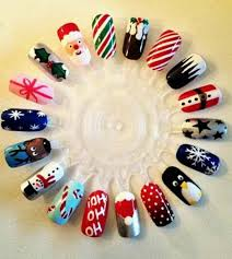79 best kerst images on pinterest holiday nails christmas nails