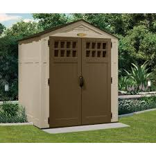 Backyard Storage Ideas by Outdoor U0026 Garden Appealing Grey Suncast Sheds For Outdoor Storage