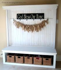 entryway bench with baskets and cushions entryway bench with storage baskets cushions bench with storage