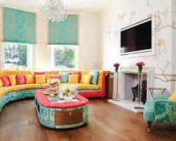 Red And Blue Living Room Ideas  Design Photos Houzz - Red and blue living room decor