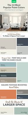 what is the most popular white for trim the 14 most popular paint colors they make a room look