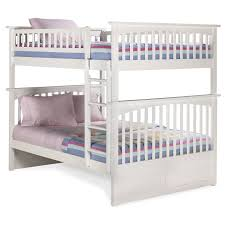 Atlantic Furniture Columbia Full Over Full Bunk Bed Hayneedle - Full over full bunk bed with trundle