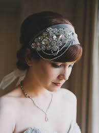 serre tãªte mariage serre tête cristal voile zandana style déco vintage inspiré