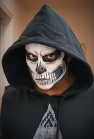 simple skull face makeup mugeek vidalondon