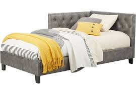 Upholstered Twin Beds Affordable Upholstered Twin Beds Girls Room Furniture