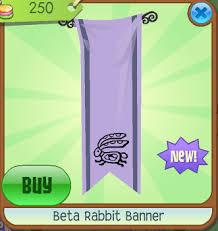 rabbit banner beta rabbit banner animal jam wiki fandom powered by wikia