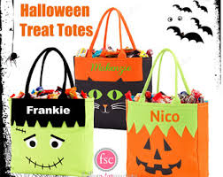 trick or treat bag etsy