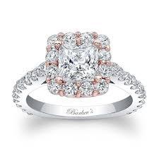 princess cut gold engagement rings barkev s princess cut engagement ring 7939lt