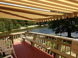 Deck Awnings Retractable Retractable Awnings Lakes Region Nh Awningsnh