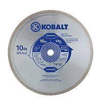 Kobalt Tile Saw Replacement Parts Sale