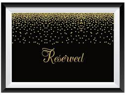 metal reserved table signs 1qty find your seat sign wedding seating sign gold wedding