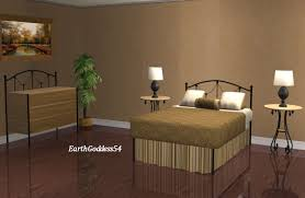 mod the sims new meshes delicate wrought iron bedroom