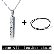 necklace with name engraved online shop engraved name necklace personalised gift pendant