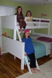 Dorel Home Your Zone Twin Over Full Wood Bunk Bed White Walmartcom - Walmart bunk bed