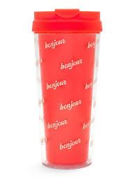 bonjour thermal travel coffee mug ban do bando coffee mug