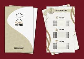 pages menu template hotel menu template free vector graphic free found