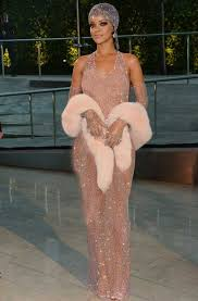 rihanna twerks and shocks in a completely see through dress