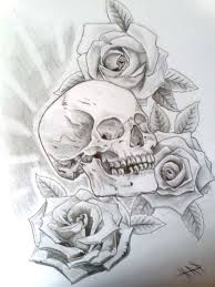 8 best skull and rose tattoo designs images on pinterest 2016