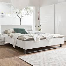 Schlafzimmer Betten G Stig Doppelbett Weiß Lackiert Rheumri Com