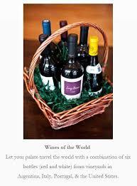 wine baskets free shipping gift baskets gasbarro s wines