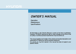 download hyundai creta owner u0027s manual zofti free downloads