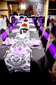 black and white table runners cheap purple damask table runner