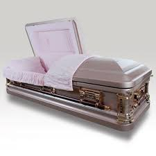 pink casket photo of snow pink casket this is the one i want