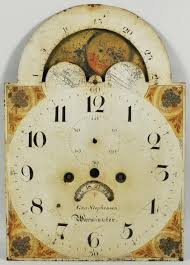 cool clock faces painted iron tall clock face geo stephenson clocks pinterest