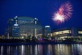 national harbor fireworks at gaylord national resort